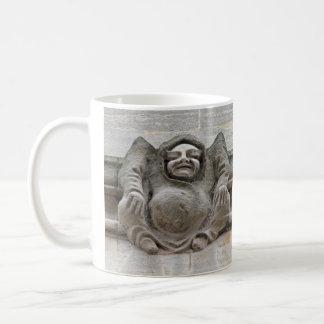Gargoyles on ledge mug