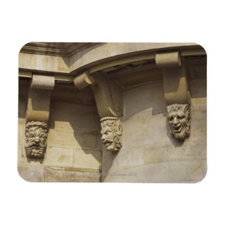 Gargoyles on Pont Neuf bridge in Paris, France Magnet