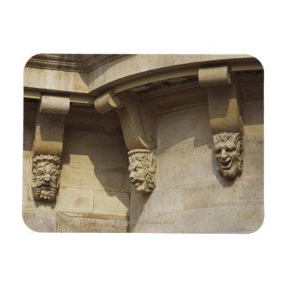 Gargoyles on Pont Neuf bridge in Paris, France Rectangular Photo Magnet