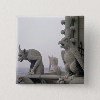 Gargoyles on the balustrade of the Grande Button