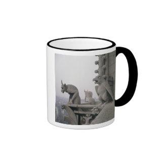 Gargoyles on the balustrade of the Grande Ringer Coffee Mug
