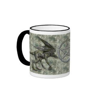 Gargoyles Ringer Coffee Mug