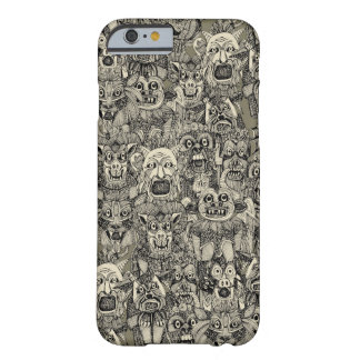 gargoyles vintage black barely there iPhone 6 case