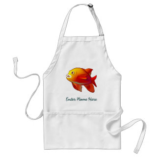 Garibaldi Fish Adult Apron