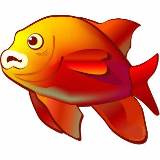 Garibaldi Fish Cutout