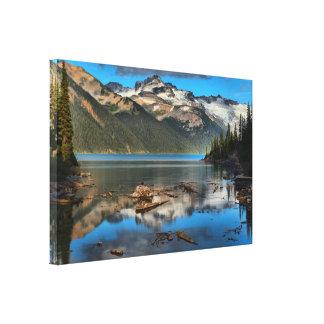 Garibaldi Lake Reflections Canvas Print
