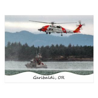 Garibaldi, OR Coast Guard Postcard