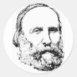 Garibaldi Round Sticker