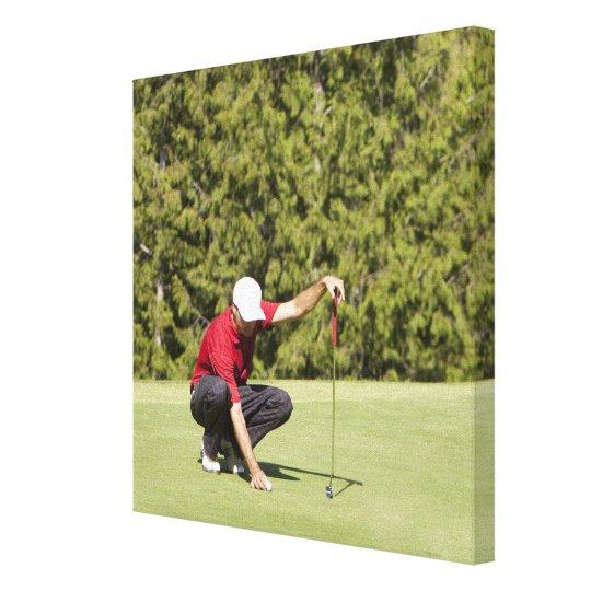 Garibaldi Springs Golf Course, Squamish, B.C. Canvas Print
