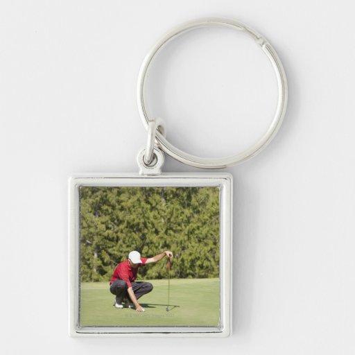 Garibaldi Springs Golf Course, Squamish, B.C. Key Chains