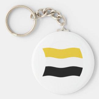 Garifuna Flag Keychain