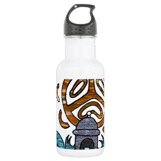garita del diablo y Sol Taino 18oz Water Bottle