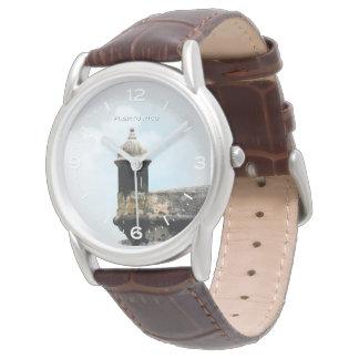 Garita: Morro: San Juan, Puerto Rico Wrist Watch
