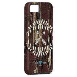 Garland Hearts Crossed Arrows  Retro iPhone SE/5/5s Case