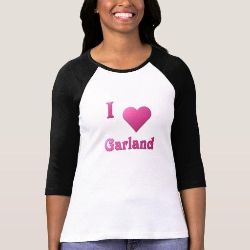 Garland -- Hot Pink Shirt
