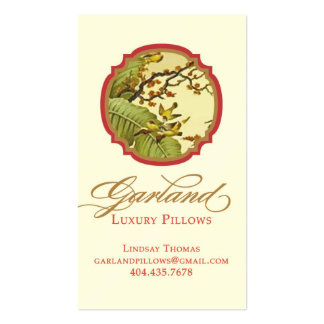 Garland Luxury Pillow Double-Sided Standard Business Cards (Pack Of 100)