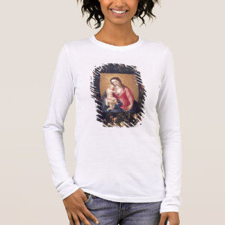 Garland of Fruit and Flowers with Virgin and Child Long Sleeve T-Shirt