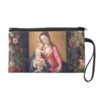 Garland of Fruit and Flowers with Virgin and Child Wristlet