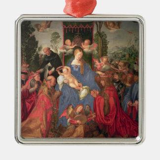 Garland of Roses Altarpiece, 1600 Metal Ornament