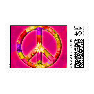 Garland Peace Postage