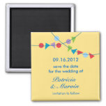 Garland Save the Date Magnet