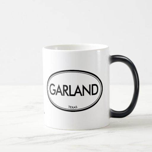 Garland, Texas 11 Oz Magic Heat Color-Changing Coffee Mug