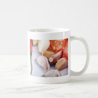 Garlic and Chili Pepper Mug