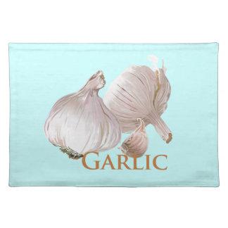 Garlic and Garlic Clove Placemat