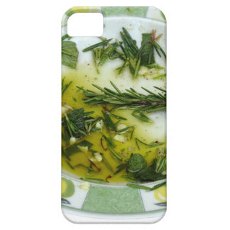 Garlic and herb infused olive oil iPhone 5 case
