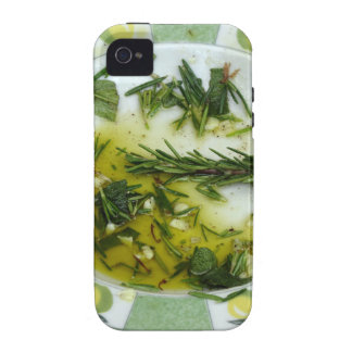 Garlic and herb infused olive oil Case-Mate iPhone 4 cover