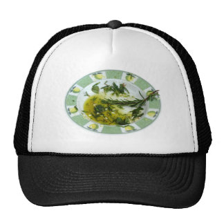 Garlic and herb infused olive oil trucker hats