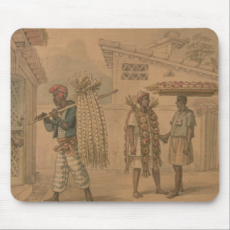 Garlic and Onion Sellers, 1826 (w/c on paper) Mouse Pad