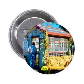 Garlic Bench Pinback Button