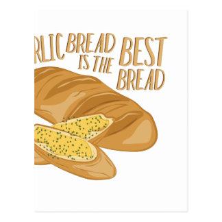 Garlic Bread Postcard