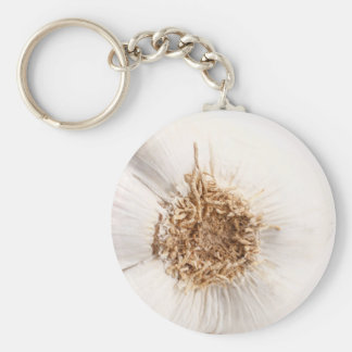 Garlic bulb keychain