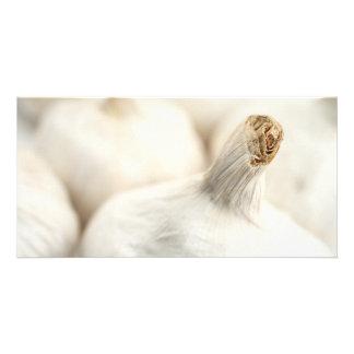 Garlic bulbs card