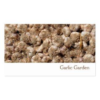 Garlic business card