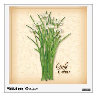 Garlic Chives Herb Wall Sticker