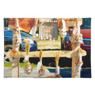 Garlic Cloth Placemat