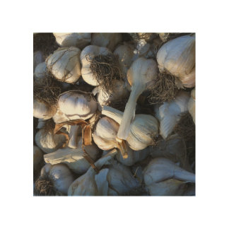 Garlic Cloves - Fresh from the Garden Wood Wall Art