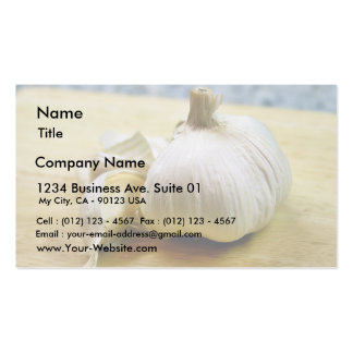 Garlic Cloves Still Life Business Card