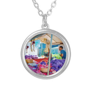 Garlic Farmers 1 Silver Plated Necklace