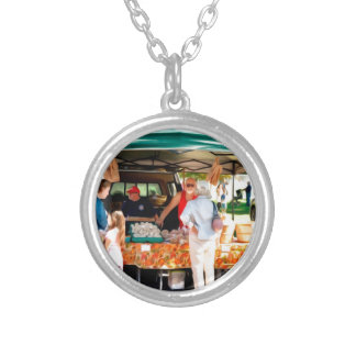 Garlic Farmers 4 Silver Plated Necklace