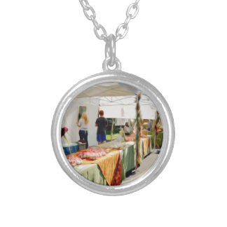 Garlic Farmers 7 Silver Plated Necklace