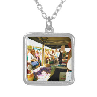 Garlic Farmers Silver Plated Necklace