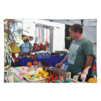 Garlic Festival Vendors 2 Placemat