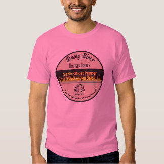 Garlic Ghost Pepper T shirt  fabulous shirt