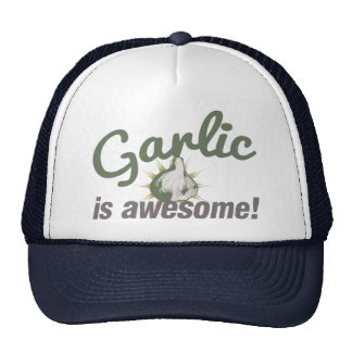Garlic is Awesome! Trucker Hats