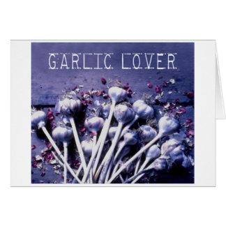 Garlic lover Card