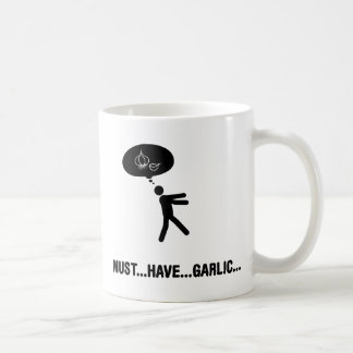 Garlic lover coffee mug
